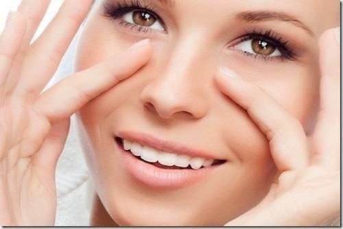 уход за кожей вокруг гла