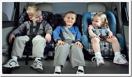 Как заставить ребёнка всегда быть в автомобильном кресле?