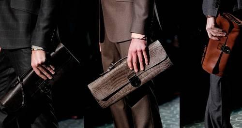 Как носить мужские сумки