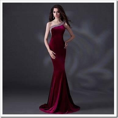 Материал для вечернего платья