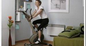 Использование велотренажера