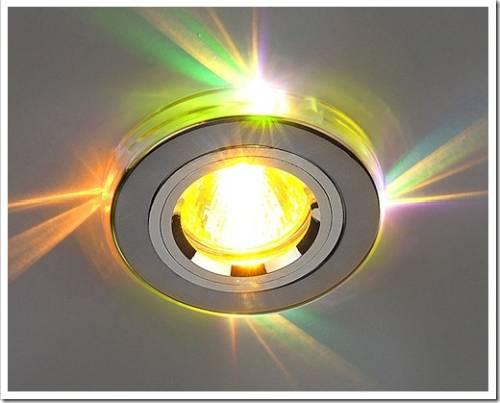 Подключение светильника к проводке