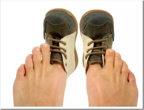 Что делать, если обувь стала мала?