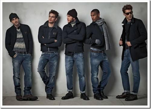 Тёмная джинса против светлой