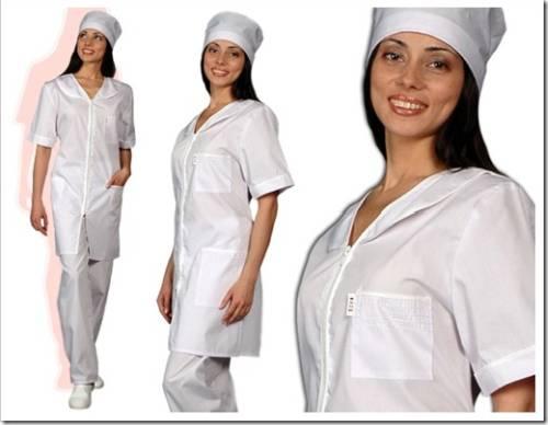 Медицинская атрибутика на халате