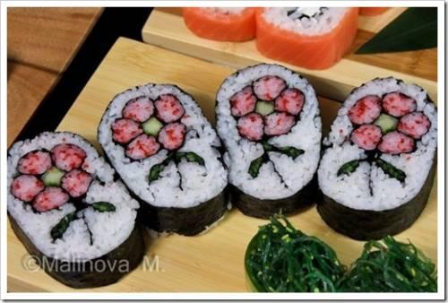 Ингредиенты, которые потребуются для приготовления суши