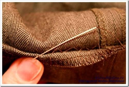 Подшиваем брюки на швейной машине