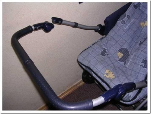 Сломалась детская коляска