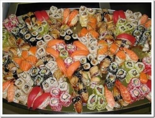 Начинка для суши – что предпочесть?
