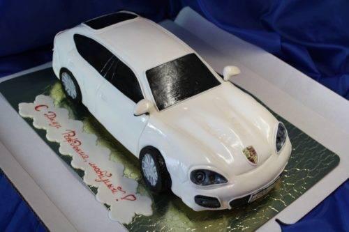 Фото торт в виде машины