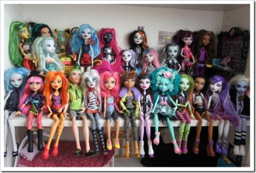 Куклы Монстер Хай – подарок, который гарантированно понравится