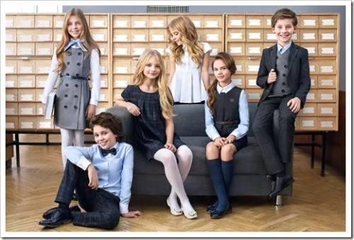 Предметы одежды, которые составляют школьную форму