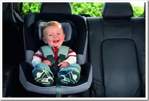 Принципы закрепления детского автокресла в салоне авто