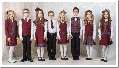 Какой крой выбирают для школьной формы?