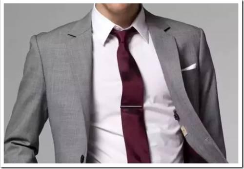 Правила ношения зажима для галстука
