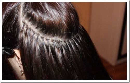 Различные методики наращивания волос