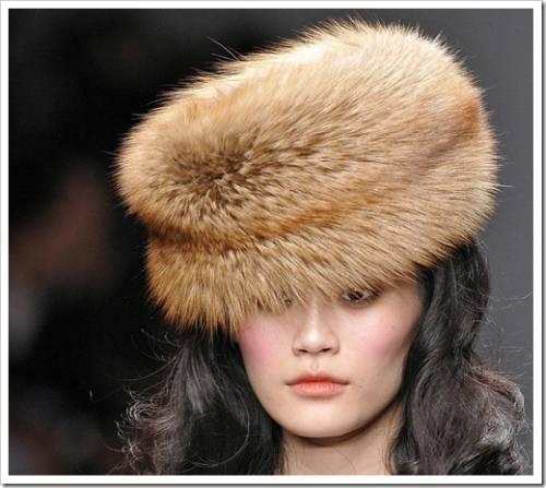 Меховые шапки: шик и блеск