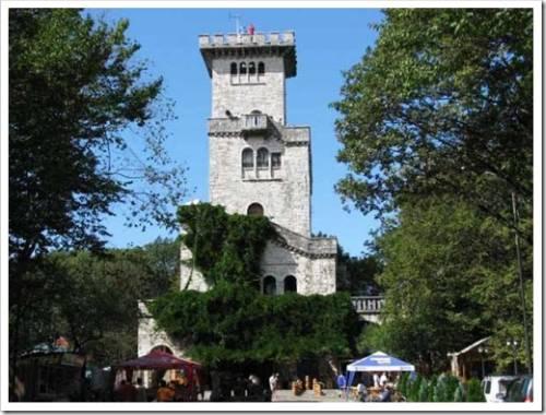Гора Ахун – башня, в который находится музей