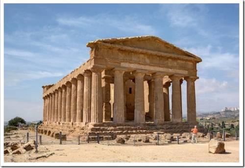 Долина храмов в Сицилии