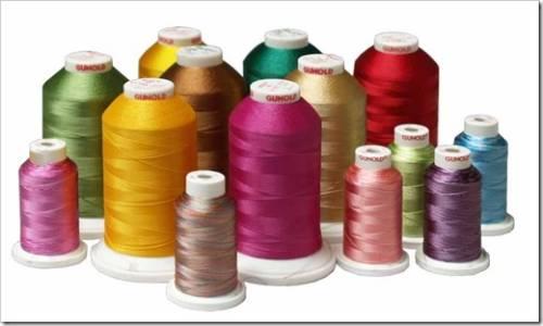 Вышивание нитками