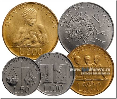 Регулярный чекан и юбилейные монеты