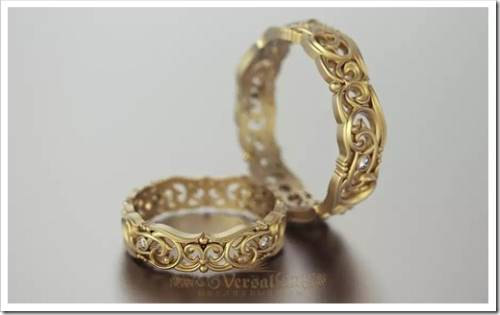 Должны ли быть обручальные кольца одинаковыми?