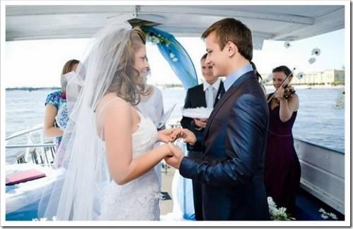 Все о свадьбе на теплоходе