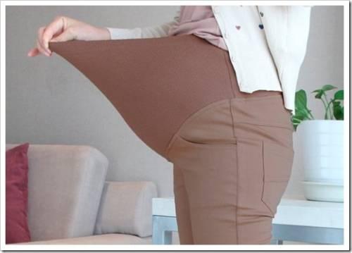 Основные требования, выдвигаемые к брюкам для беременных