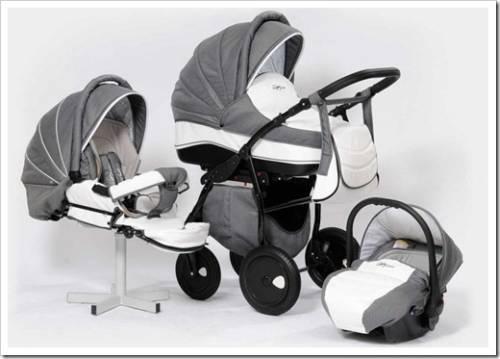 Натуральные материалы, защита от ветра, техническое оснащение коляски