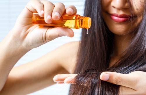 Как использовать масло для волос