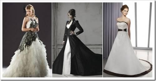 Цвет свадебного платья и аксессуаров