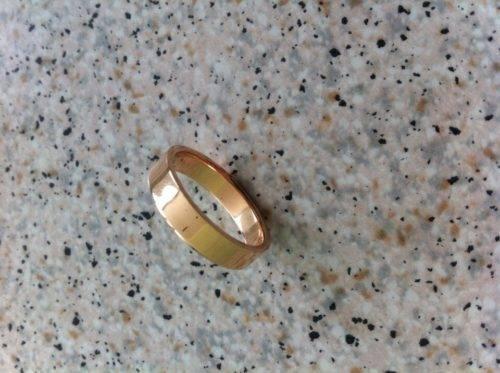 Как уменьшить золотое кольцо