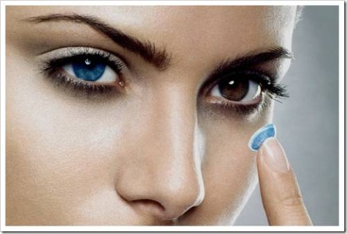 Эстетические контактные линзы