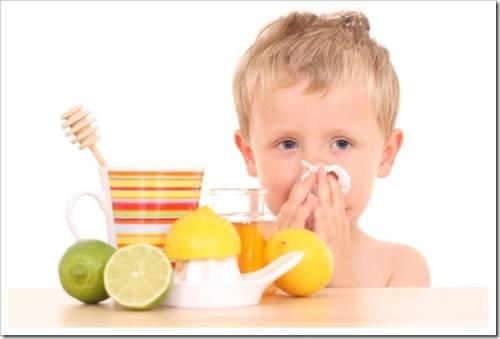 Укрепление иммунитета ребенка