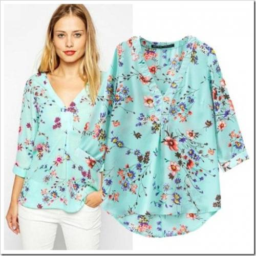 ea1d90a2539 Как сшить летнюю блузку своими руками  Узнайте