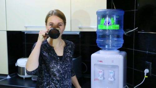Как работает кулер для воды