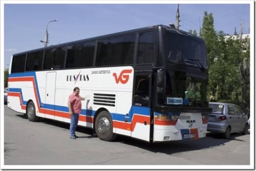 На курорт на автобусе