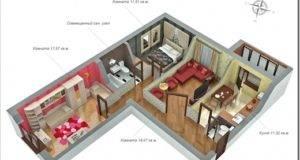 Квартиры-студии для молодых людей