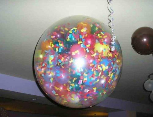 Что такое шар-сюрприз и чем его наполняют