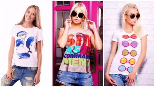 Какие женские футболки в моде летом 2018