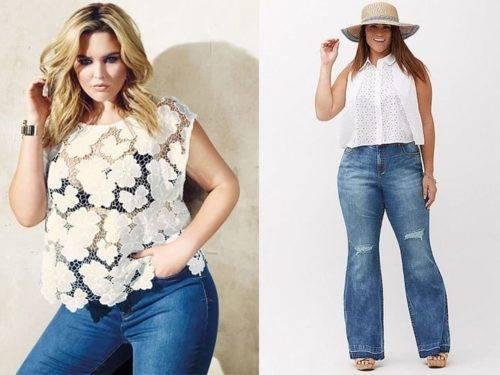 Что носить полной женщине летом 2018