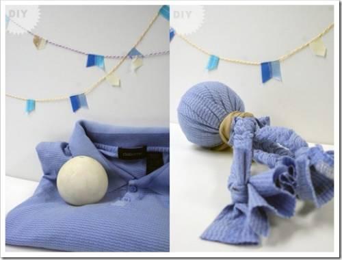 Создание жевательной игрушки из ткани