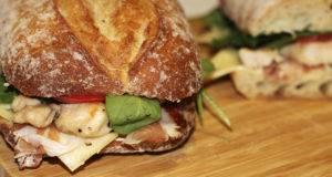 Как приготовить сэндвич с курицей
