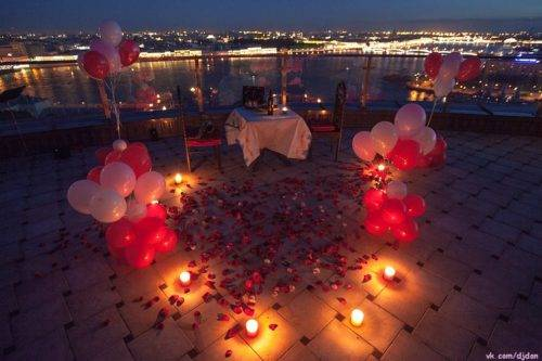 Как устроить девушке романтический вечер