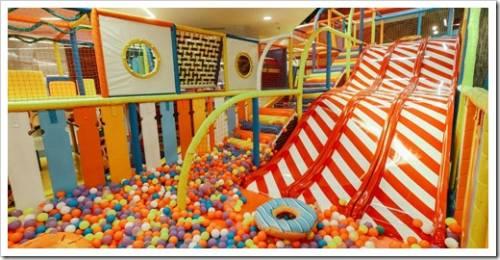 Чем привлекательны детские развлекательные центры?