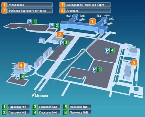 Где парковка в аэропорту Домодедово