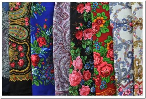 Павлопосадские платки