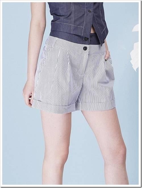 Кожаные шорты и шорты-юбка