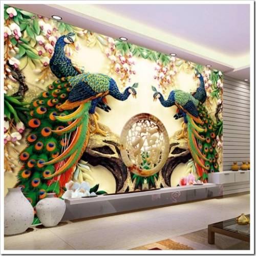 Краски, которые рекомендуется применять в росписи интерьеров