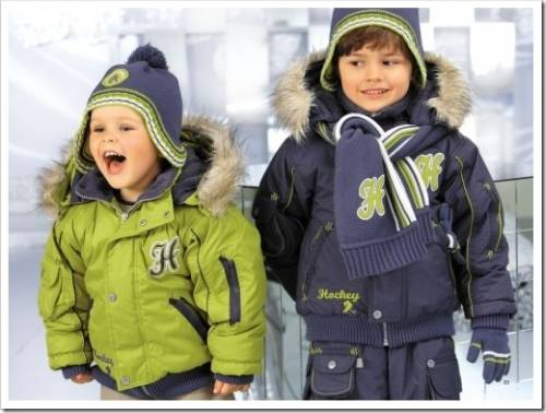 Зимняя куртка для ребенка